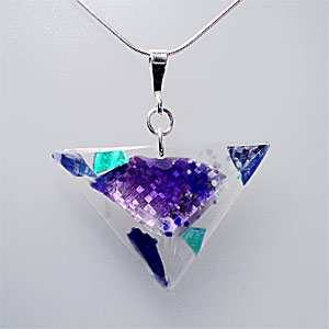 Small Triangle Necklet