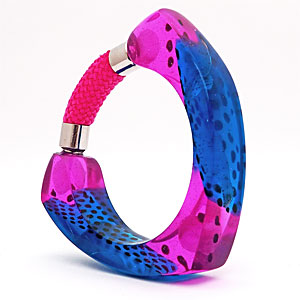 Pink and Blue Bangle